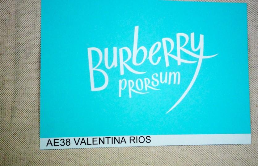 BURBERRY PRORSUM/ #LFW SS15