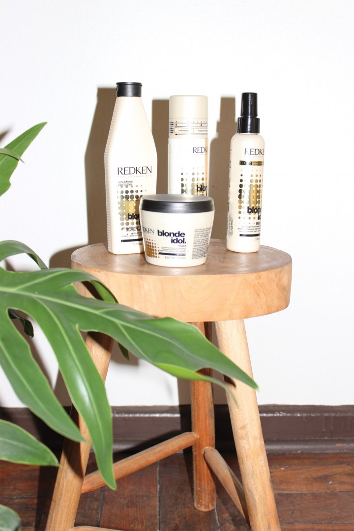 redken blonde idol how to use