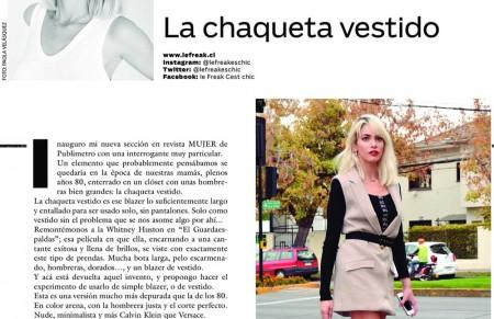FREAK O CHIC/ AHORA EN MUJER DE PUBLIMETRO
