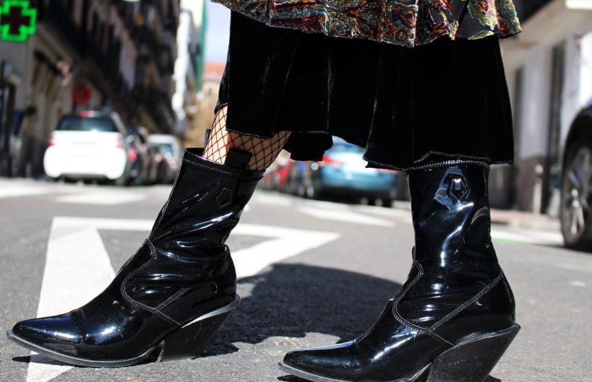 Botas Cowboy en su versión moderna
